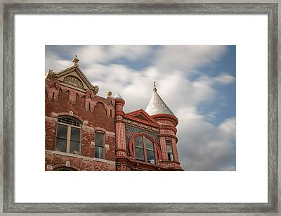 Crawford County Bank Framed Print