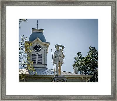 Crawford County Courthouse Framed Print