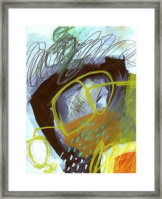 Crayon Scribble#5 Framed Print