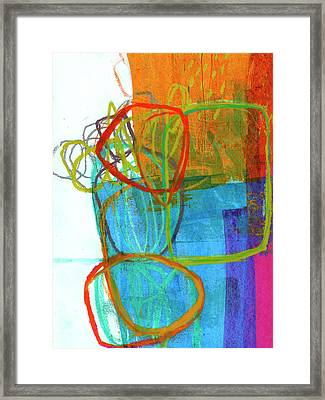 Crayon Scribble#8 Framed Print