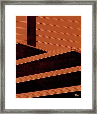 Crayon Steps At The Salvador Dali Museum Framed Print by Claudia O\'Brien