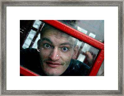 Crazed Framed Print by Jez C Self