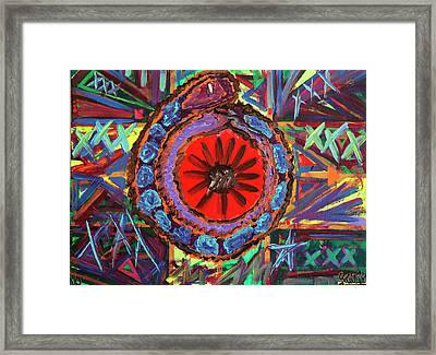 Crazil Framed Print