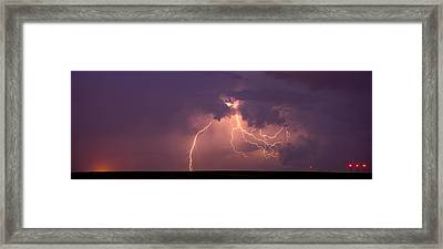Crazy Bolts Framed Print by Darren  White