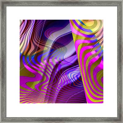 Crazy Busy Framed Print by Ruth Palmer