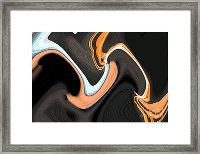 Crazy Cockatoo Framed Print by Norman  Andrus
