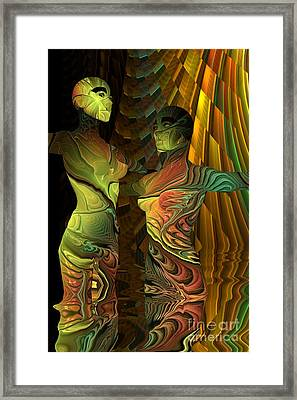 Crazy Dance -2- Framed Print