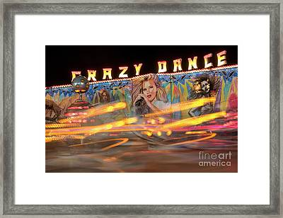 Crazy Dance Framed Print by Juli Scalzi