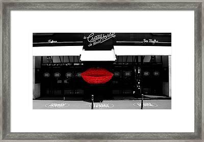 Crazy Horse Saloon 2 Framed Print