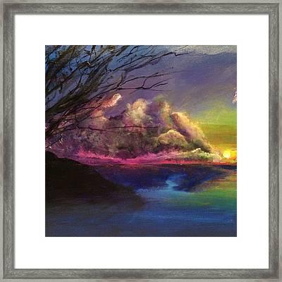 Guava Bay Beach Framed Print by Ron Formento Jr