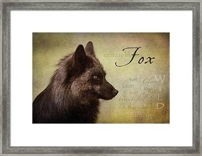Crazy Like A Fox Framed Print