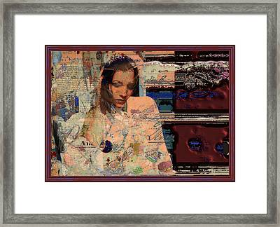 Crazy Over You Framed Print by Adam Kissel