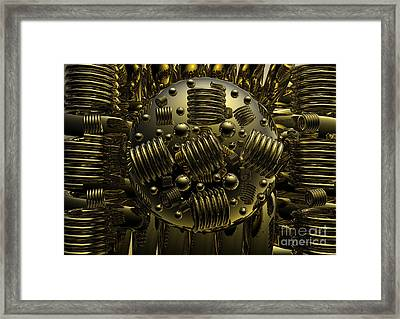 Crazy Framed Print by Robert Orinski