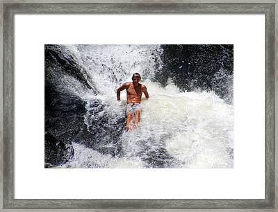 Crazy Wild Young And Beautiful Framed Print by Elena Tudor