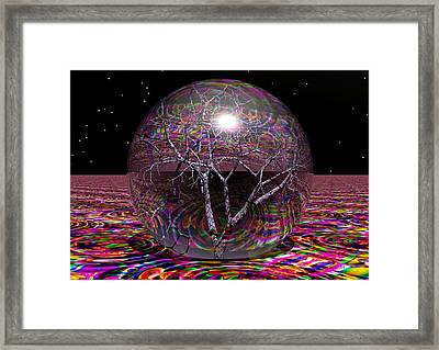 Crazy World Framed Print by Robert Orinski