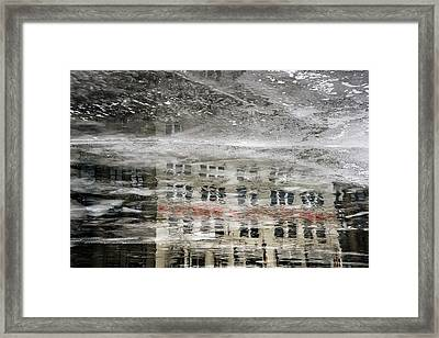 Cream City Cold Framed Print