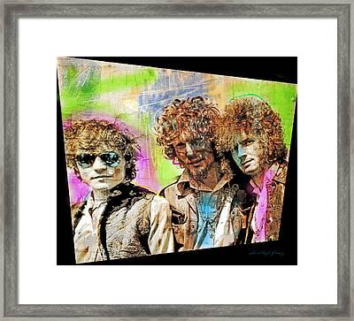 Cream Framed Print by David Lloyd Glover