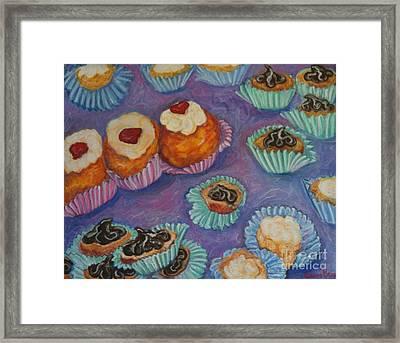 Cream Puffs Framed Print by Sherri Bramlett