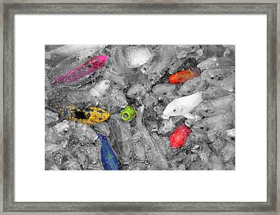 Create Your Own Happiness And Break Free Of The Grey Framed Print