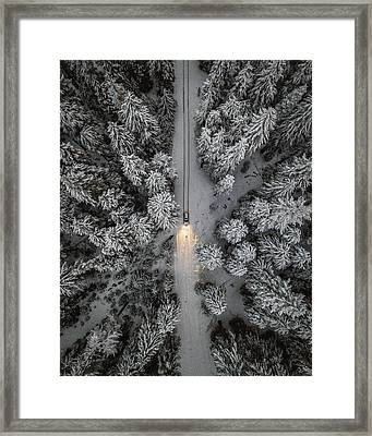 Create Your Own Path  Framed Print