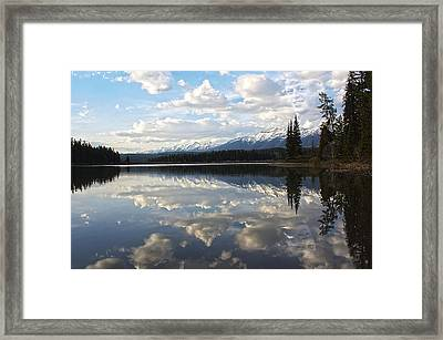 Created - He Is Calling Framed Print by Janie Johnson