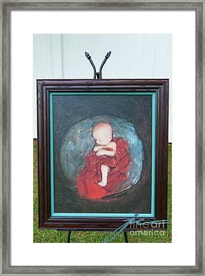 Creating Life Framed Print