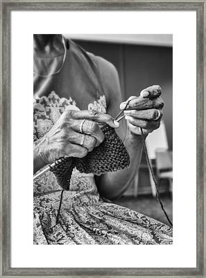 Creating Love Framed Print