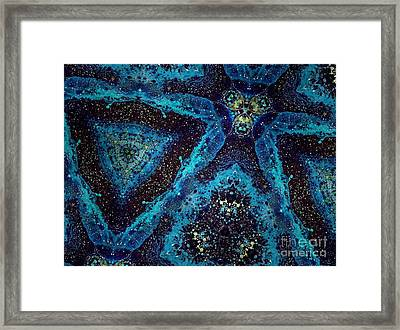 Creating Space Framed Print by Denise Nickey