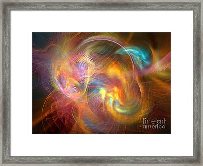 Creation 3 Framed Print