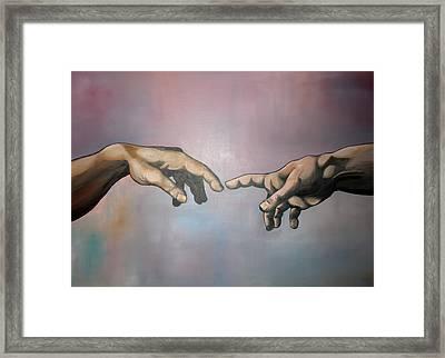 Creation Framed Print by Brent Jones