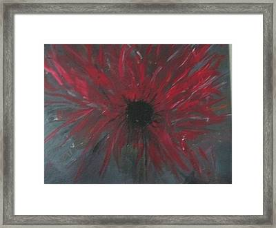Creation Crying Framed Print
