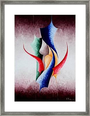 Creation Framed Print by Fatma Gulnar