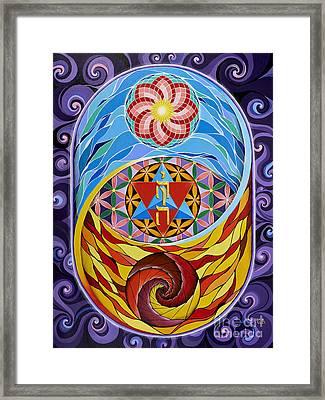 Creation Framed Print by Galina Bachmanova