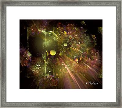 Creation Framed Print by Jean Gugliuzza