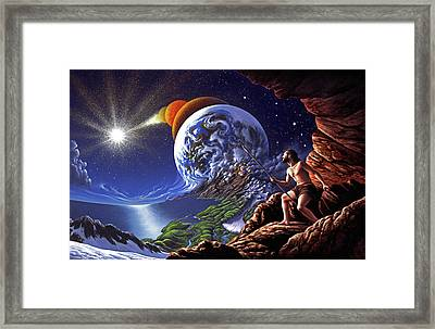 Creation Framed Print