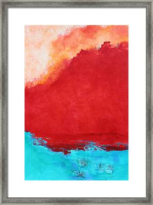 Framed Print featuring the painting Creation by M Diane Bonaparte