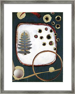 Framed Print featuring the painting Creation by Michal Mitak Mahgerefteh