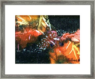 Creation Framed Print by MtnWoman Silver