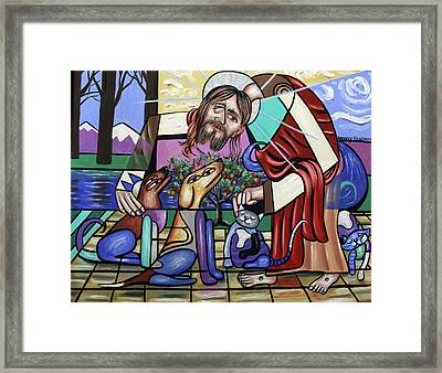 Creation, On Earth As It Is In Heaven Framed Print