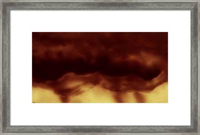 Creation Framed Print by Rosemen Elsayad