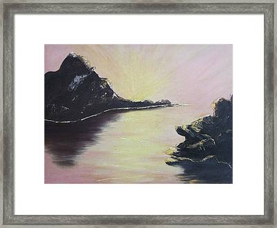 Creation Framed Print by Suzanne  Marie Leclair