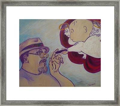 Creation Theory 1 Framed Print by Todd  Peterson