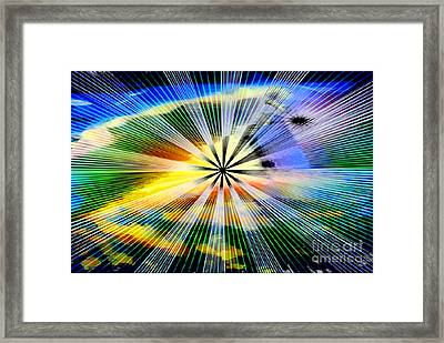 Creation's Instrument Framed Print by Rebecca Phillips
