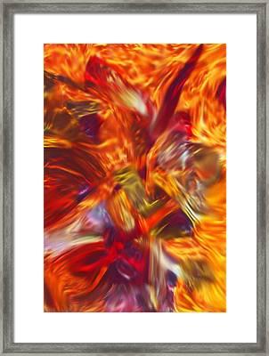 Creations Vortex Framed Print by AJ  Modiest