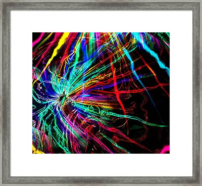Creative Energy From Another Magical Place. Framed Print