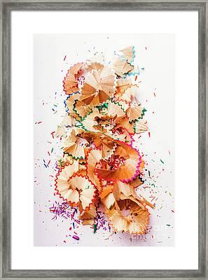 Creative Mess Framed Print