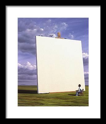 Easel Paintings Framed Prints