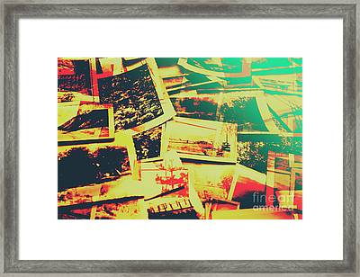 Creative Retro Film Photography Background Framed Print by Jorgo Photography - Wall Art Gallery