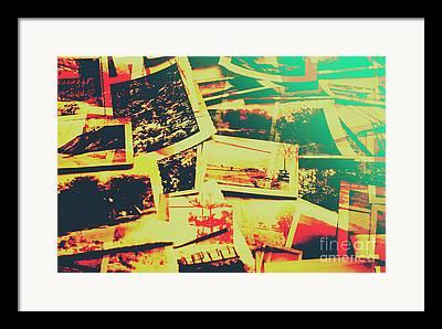 Antiquated Photographs Framed Prints