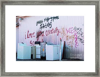 Framed Print featuring the photograph Creatively Yours by Joe Jake Pratt